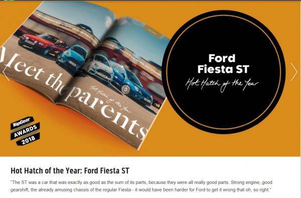 Hot Hatch of the Year: Ford Fiesta ST