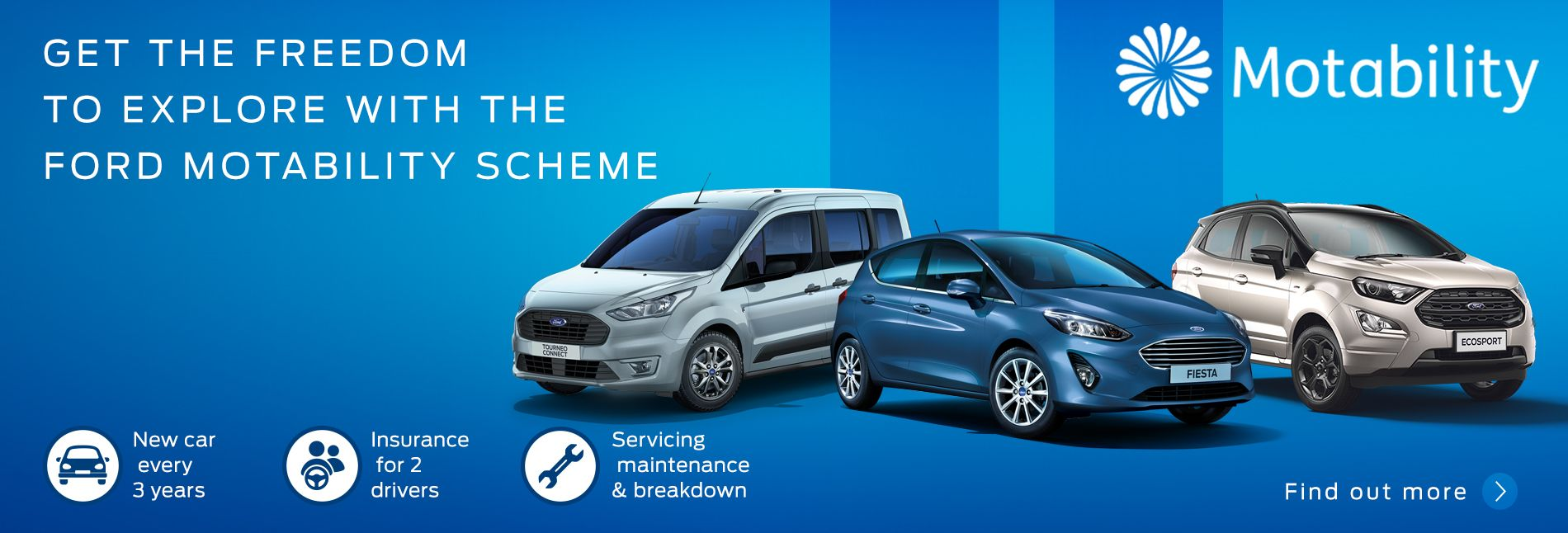 Ford Motability at Johnstone's Garage